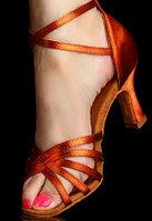 Туфли для бальных танцев (взрослые). Цвет: Бронза. Размеры: 35-41 38