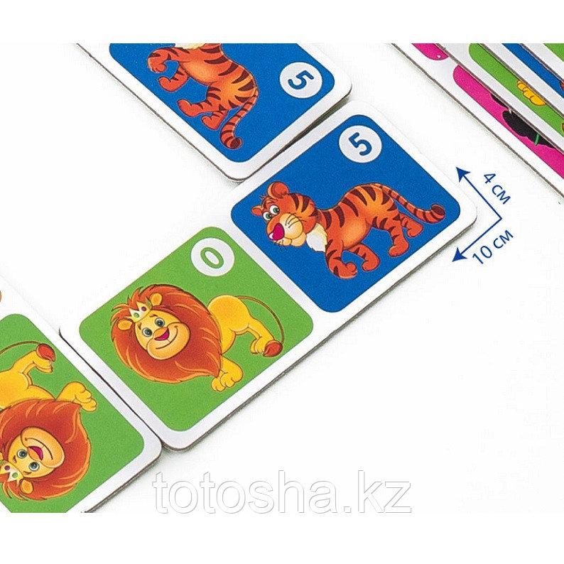 """Домино для малышей """"Зоопарк"""" - фото 3"""