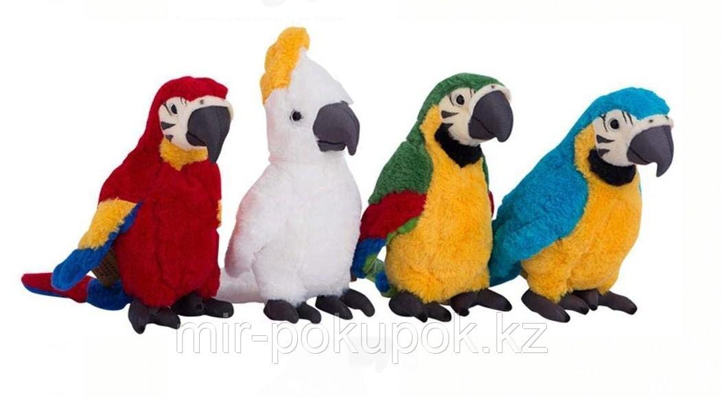 Мягкая игрушка  Попугай, 26 см