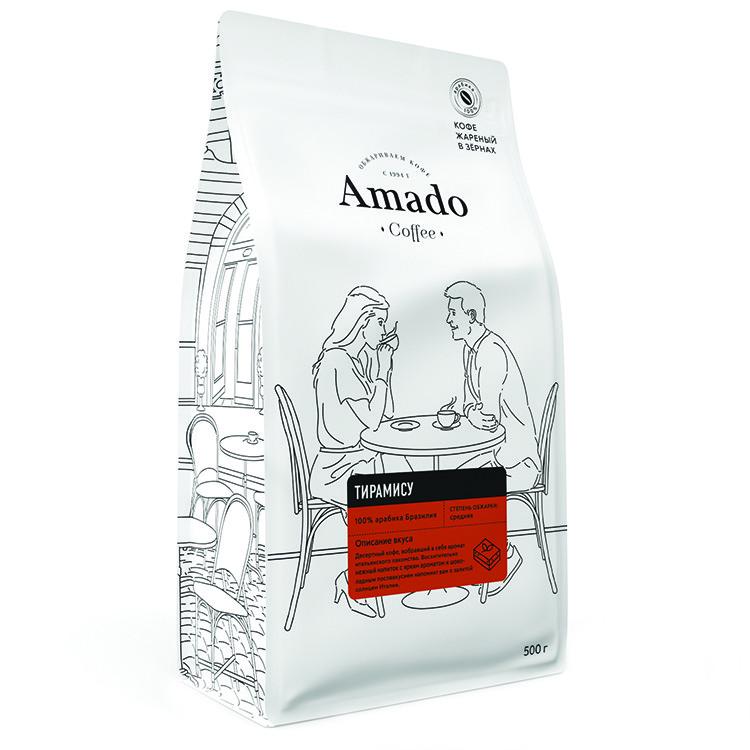 Тирамису Кофе в зернах 500гр
