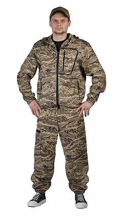 """Костюм мужской """"Турист 1"""" куртка и брюки. Цвет: Легион серый, фото 2"""