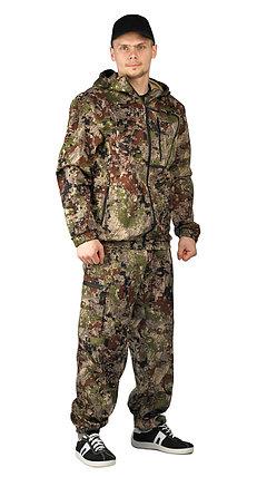 "Костюм ""Турист 1"" мужской зеленая сетка, фото 2"
