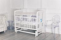Кровать детская Incanto HUGGE универсальный маятник белый