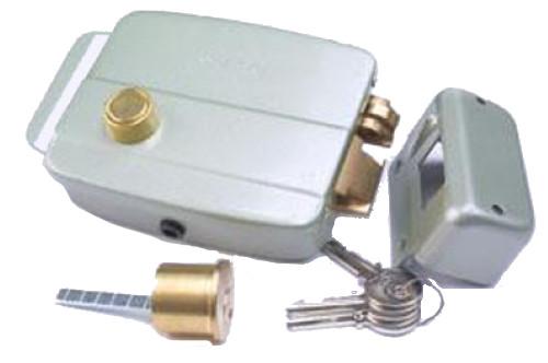 EL-301B - Замок электромеханический с ручкой, с блокировкой замка.