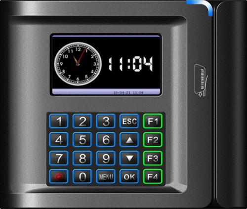 US10C-B (Bar code) - Автономный считыватель штрих-кода с функциями учёта времени, посещаемости и управления доступом.