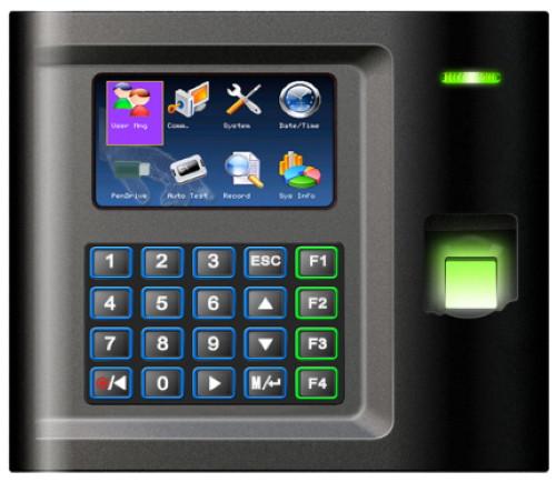 US10C (Fingerprint) - Автономный биометрический (по отпечаткам пальцев) считыватель с функциями учёта времени, посещаемости и управления доступом. С 3