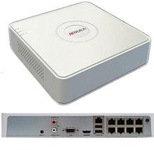 DS-N208P - 8-ми канальный сетевой видеорегистратор с разрешением записи до 4MP на канал, с 8 независимых