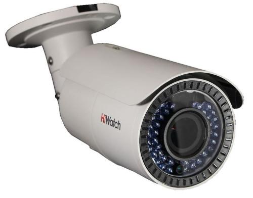 DS-T106 - 1MP HD-TVI CVBS уличная цилиндрическая варифокальная камера с ИК-подсветкой.