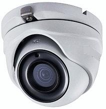 DS-T303 - 3MP HD-TVI уличная купольная камера с фиксированным объективом и ИК-подсветкой.