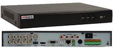 DS-H108U - 8-ми канальный Turbo HD5.0-TVI гибридный видеорегистратор с разрешением записи до 8MP на канал + 4 IP-канала с разрешением 8MP.