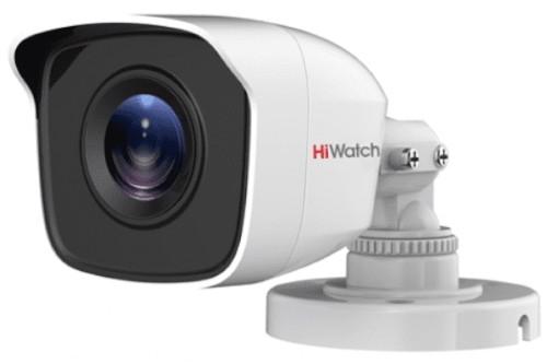 DS-T110 - 1MP HD-TVI CVBS уличная цилиндрическая камера с фиксированным объективом и EXIR*-ИК-подсветкой.