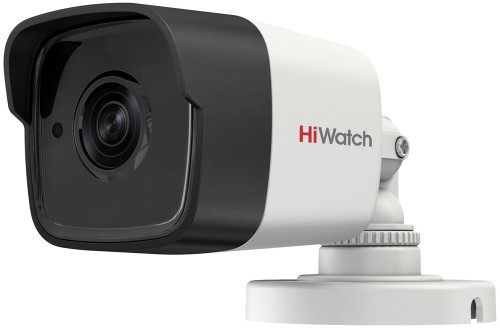 DS-T500 - 5MP HD-TVI уличная цилиндрическая камера с фиксированным объективом и ИК-подсветкой.