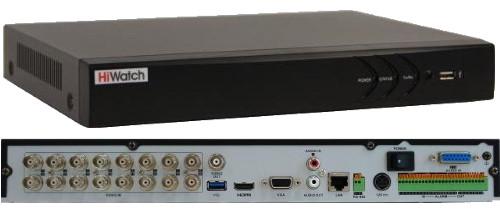DS-H216U - 16-ти канальный Turbo HD5.0-TVI/AHD/CVI/CVBS гибридный видеорегистратор  с разрешением записи до