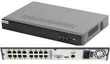 DS-N316/2P - 16-ти канальный сетевой видеорегистратор с разрешением записи до 6MP на канал, с 2-мя