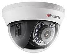 DS-T101 - 1MP HD-TVI CVBS купольная камера с фиксированным объективом и ИК-подсветкой.