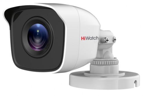DS-T200B - 2MP HD-TVI уличная цилиндрическая камера с фиксированным объективом и ИК-подсветкой.