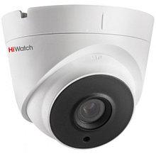DS-T203A - 2MP HD-TVI уличная купольная камера с фиксированным объективом, поддержкой аудио и ИК-подсветкой.