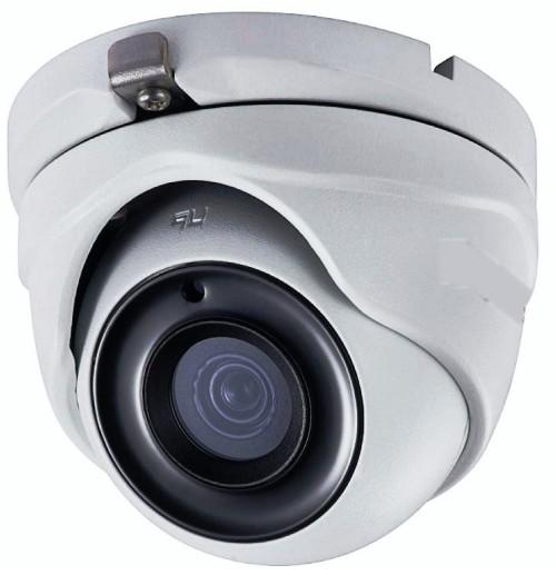 DS-T803 - 8.3MP мультиформатная (HD-TVI AHD CVI CVBS) уличная купольная камера с фиксированным объективом и