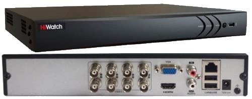 DS-H208QA - 8-ми канальный Turbo-HD4.0 TVI/AHD/CVI/CVBS гибридный видеорегистратор с разрешением записи до 4MP