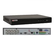 DS-H308Q - 8-ми канальный Turbo HD5.0 TVI/AHD/CVI гибридный видеорегистратор с разрешением записи до 4MP на канал + 2 IP-канала с разрешением 6.0MP и