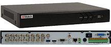 DS-H216UA - 16-ти канальный Turbo HD5.0-TVI/AHD/CVI/CVBS гибридный видеорегистратор  с разрешением записи до