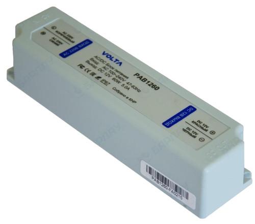 PAB1265 - Блок питания VOLTA 180В~264 В, 47-63 Гц  / DC - 12В 5.4A, 65 Вт. Корпус - алюминий.