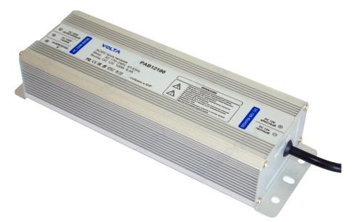 PAB12100 - Блок питания VOLTA AC 180В~264В - 47-63Гц / DC 12В/ 8.4A - 100Вт.