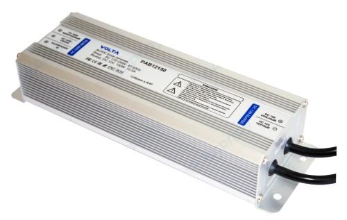PAB12150 - Блок питания VOLTA AC 180В~264В - 47-63Гц / DC 12В/ 12.5A - 150Вт.