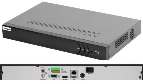 DS-N332/2 - 32-х канальный сетевой видеорегистратор с разрешением записи до 6MP на канал, с 2-мя