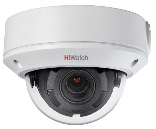DS-I458 - 4MP Уличная антивандальная купольная EasyIP-2.0Plus варифокальная IP-камера с EXIR* ИК-подсветкой.