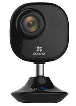 C2Mini Plus - 2MP Внутренняя IP-камера с фиксированным объективом, встроенным Wi-Fi-модулем, микрофоном и ИК-подсветкой. Цвет - чёрный.