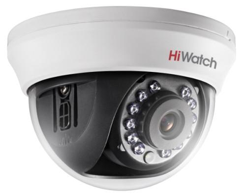 DS-T591 - 5MP мультиформатная (HD-TVI AHD CVI CVBS) уличная купольная камера с фиксированным объективом и