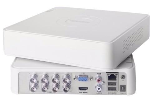 DS-H108G - 8-ми канальный Turbo HD3.0 TVI/AHD/CVI/CVBS гибридный видеорегистратор с разрешением 1MP на канал +
