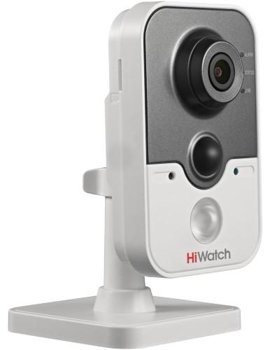 DS-T204 - 2MP TVI кубическая камера с фиксированным объективом, ИК-подсветкой, поддержкой аудио и PIR-датчиком