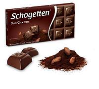 Шоколад темный Schogetten Dark Chocolate 100гр (15 шт. в упаковке)