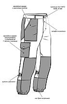 Костюм мужской летний цвета хаки 100% хлопок, фото 3