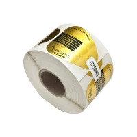 Форма для наращивания ногтей в рулоне, широкая (500 шт.)