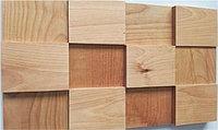 Деревянная мозаика 3D Экзотик, Береза, Без покрытия, Казахстан