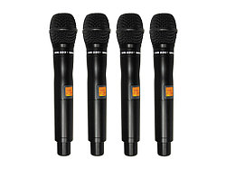 Комплект из 4-х беспроводных микрофонов WORK WR 4200/1