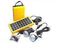 Электростанция с солнечной панелью Solar home system kit, фото 1