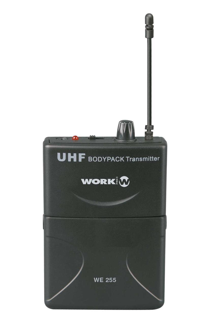 Беспроводной петличный микрофон WORK WRD 255/2,1 КАНАЛ UHF