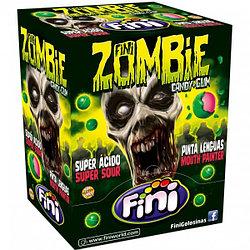 """Конфета с жвачкой """"Зомби (кислый)"""" FINI Испания в блоке -200шт"""