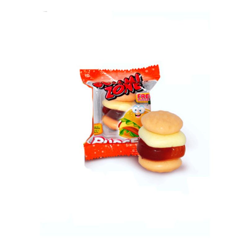 """Жевательный мармелад """"Burger Big - Большой Бургер"""" Gummi Zone Индонезия 32гр в блоке -18шт"""