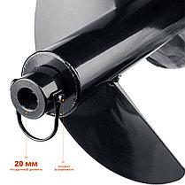 Шнек для мотобуров, грунт, d=300 мм, однозаходный, ЗУБР, фото 3