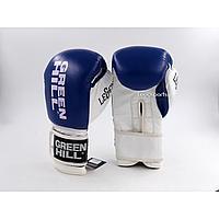 Боксерские перчатки Green Hill (кожа) 14р