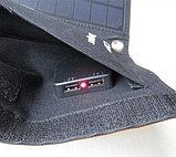 Солнечное зарядное устройство 21 Вт (влагозащищенная складная солнечная панель с двойным usb-портом), фото 5