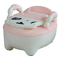 Детский горшок Pituso Бурёнка розовый DA-6808B, фото 1