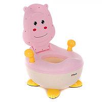 Детский горшок Pituso Бегемотик Розовый FG336