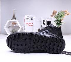 Зимние кроссовки Adidas ( 40-44)  Мех+Кожа, фото 3