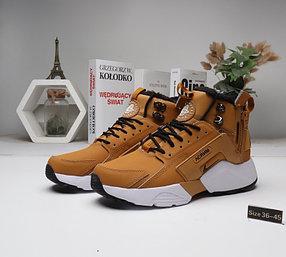 Зимние кроссовки Nike Huarache ( 36-45) Мех